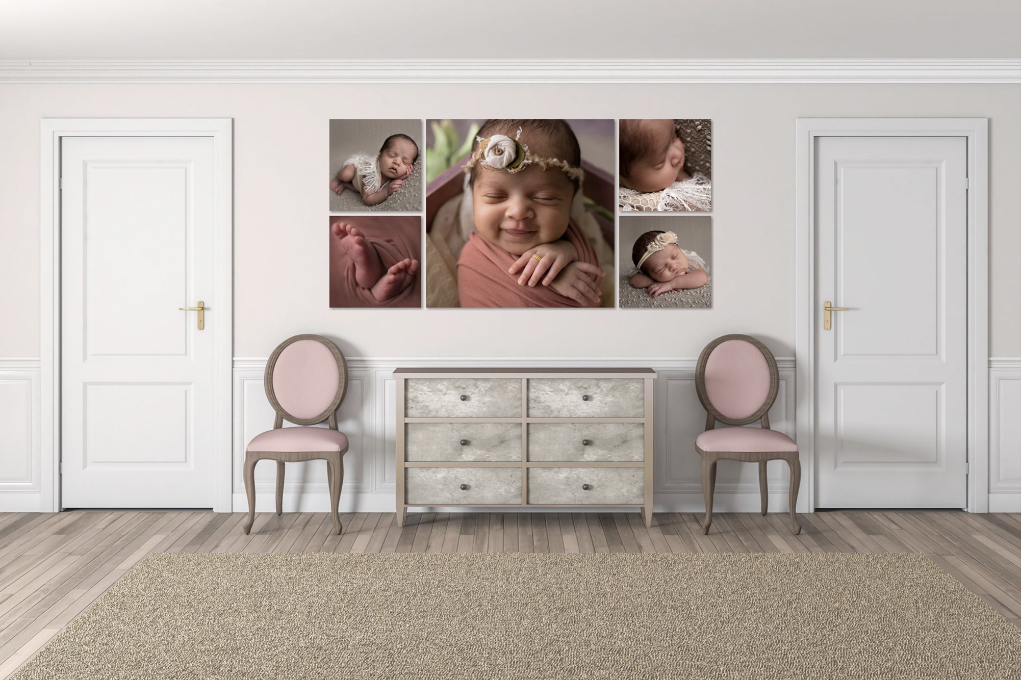 babies collage